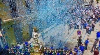 Chiaramonte Gulfi. Maria Santissima delle Grazie: Ieri al via il novenario con la tradizionale sciuta del simulacro della Vergine