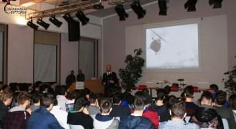 """Vittoria. Cultura della legalità: i carabinieri incontrano gli studenti dell'istituto comprensivo """"F. Pappalardo"""""""