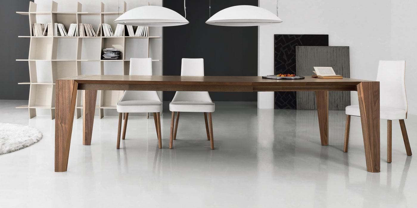 Tavolo moderno di design clover reverse & cloud. Pulse Extendable Wood Dining Table Shop Online Italy Dream Design