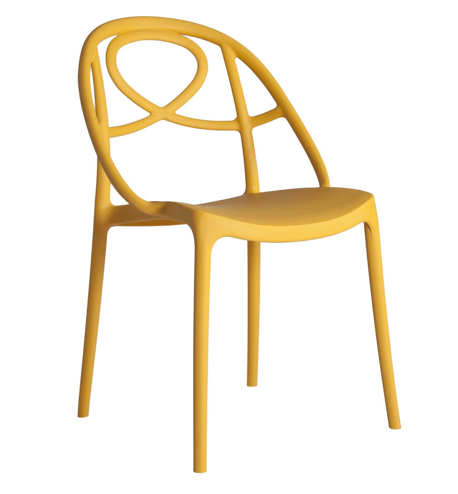 sedie per la sala da pranzo, bellezza e comodità per ricevimenti bellissimi. Arabesque Sedia In Polipropilene Italy Dream Design