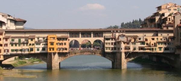 Florences Bridge of Gold Ponte Vecchio Italy Perfect
