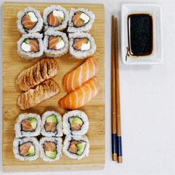 Salmon Only - Le plateau sushi tout saumon - Itamae