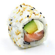 California Roll saumon avocat cheese chez Itamae restaurant japonais à Marseille