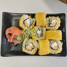 Crunch Roll saumon cheese chez Itamae restaurant japonais à Marseille