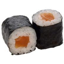 Maki saumon chez Itamae restaurant japonais à Marseille