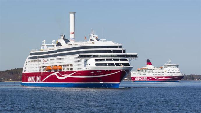 Viking Linen matkustajat entistä tyytyväisempiä: suositteluhalukkuus kohosi%