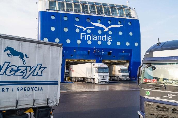 M/s Finlandian rahtiliikenne jatkuu – lääkekuljetukset priorisoidaan