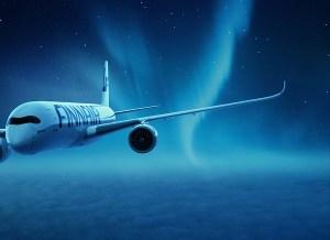 Finnair lentää joulun kunniaksi virtuaalilentoja Rovaniemelle