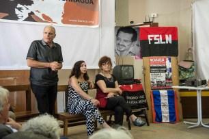 11/06/2017. Incontro a RiMake con gli svizzeri della solidarietà con il Nicaragua