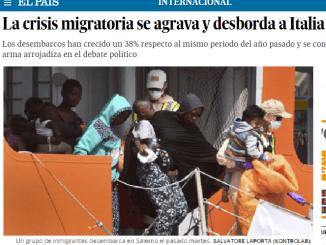 crisis migratoria italia