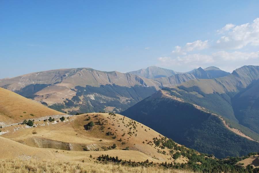 Los Montes Sibillini en Italia