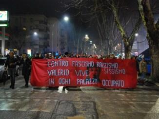 manifestación montesacro