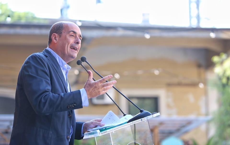 zingaretti partito democratico italia