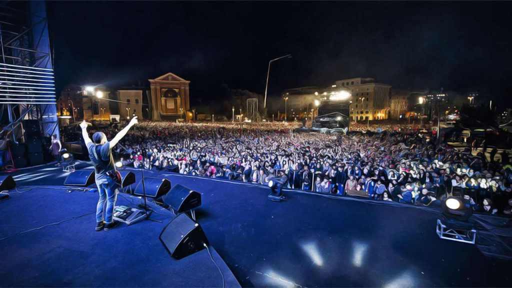 concierto roma primero mayo