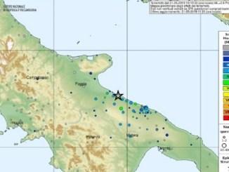 terremoto apulia italia
