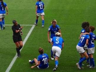equipo italiano femenino