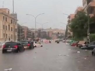 tormenta roma 8 junio 2021