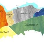 Mapa do Município de Itaocara