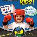 Professor Sedison Oliveira lança Muay Thai Kids para Crianças de 4 a 7 anos