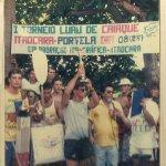 O 1° Torneio de Caiaque em Itaocara aconteceu no fia 8 de fevereiro de 1987.
