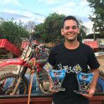 Itaocarense conquista Podium no Motocross de Itaocara