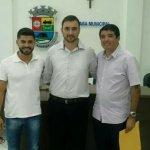 Câmara Municipal de Aperibé empossa o novo vereador Rodrigo Rosevelt.