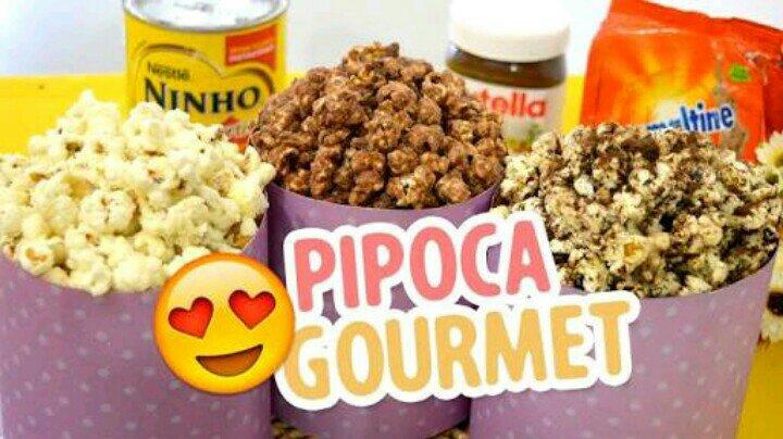 Famosos Pipoca Gourmet de Leite Ninho e Ovomaltine - Site Itaocara RJ IU18
