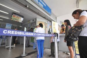 Se aplicada na poupança, bolada da Mega Sena da Virada pode render R$ 1,2 milhão por mês ou R$ 40 mil por dia (Elza Fiúza/ABr)