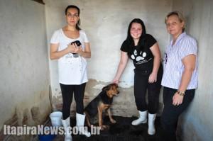 Ana Carolina, Taís e Maria integram grupo que atua na Uipa