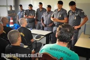 Policiais da ROTA já estão na cidade