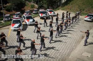 Treinamento envolve perto de 40 policiais
