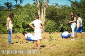 Iniciativa também envolveu plantio de árvores
