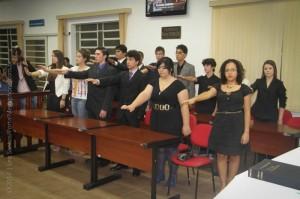 Estudantes foram diplomados em sessão solene na Câmara