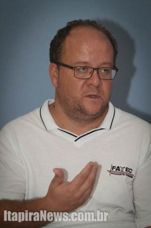 Giraldi confirmou primeiro curso na Fatec de Itapira (Leo Santos)