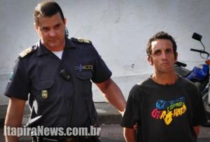 Souza escondia cocaína na cueca e acabou preso