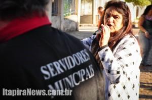Cristina coordena movimento grevista