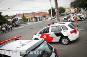 Sindicato realizou ato em frente ao Hospital Municipal