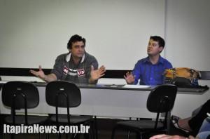 Oliveira e Carvalho dirigiram encontro polêmico