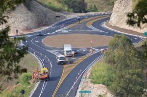 Trevo da Ponte Nova agora oferta mais segurança aos usuários (Alexandre Siqueira/Prefeitura Municipal de Itapira)