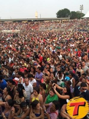 Público lotou arena e arquibancadas (Divulgação/Transamérica)