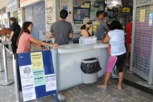 A partir de 24 de maio, a aposta unitária, de seis números, da mega-sena passará de R$ 2,5 para R$ 3,5 (Wilson Dias)