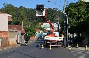 Semáforo visa disciplinar trânsito em cruzamento movimentado nos Prados (Divulgação)