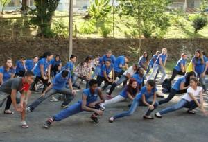 Integrantes da entidade Jovem em Ação participaram do evento (Divulgação)