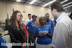 Representantes do Ministério do Meio Ambiente também estiveram em Itapira (Leo Santos/Tribuna de Itapira)