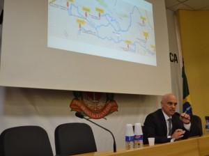 Secretário de Segurança, Alexandre Moraes, coodena investigações (Nathalia Manzaro/SSP)