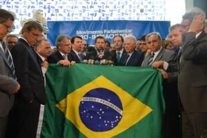 Representantes de quatro partidos de oposição lançam movimento para pedir o impeachment da presidenta (Dilma Rousseff/Antonio Cruz/Agência Brasil)
