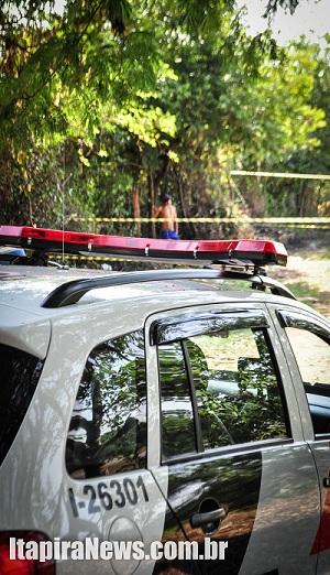 Corpo foi encontrado em área de várzea no Cubatão