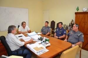 Autoridades discutiram ações integradas em encontro informal (Divulgação)