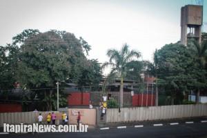 Ocupação da Cândido de Moura começou na madrugada