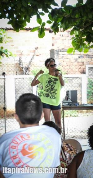 Escola Pedro Ferreira Cintra teve show de rap após anúncio do adiamento